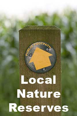 Local nature reserves Epping District Council page